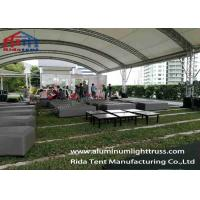 Buy cheap High Hardness Aluminum Light Truss 520 X 760mm For Large Performances from wholesalers