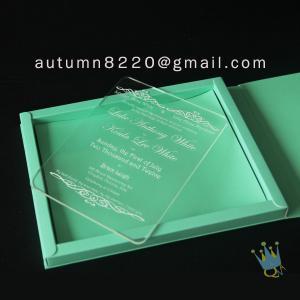 Quality good quality wedding invitation sleeves wholesale