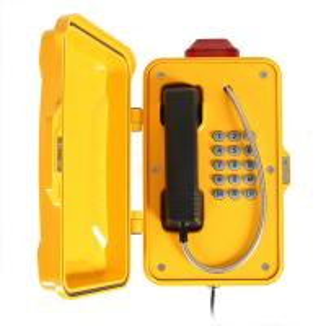 China Marine Industrial Weatherproof Telephone Moisture Resistant Aluminum Alloy Material on sale