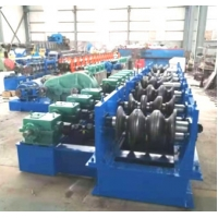 Quality CE 476mm Guardrail Roll Forming Machine For 4mm Thickness Sheet wholesale