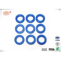 Quality 80 Shore A Flat Rubber Washer With FDA Approved Black Blue Soft Silicone wholesale