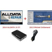 Cheap 2014 ALLDATA 10.53 Automotive Diagnostic software And 2013 Mitchell OnDemand 2 IN 1 for sale
