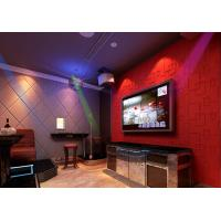 KTV Soundproof Wall Coverings Natural Fiber Wallpaper