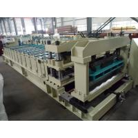 Quality Steel Rollers Step Tile Roll Forming Machine Automatic for Metal Tile wholesale