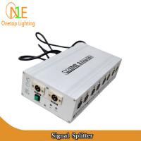 Quality 8-channel DMX signal distributor Signal Splitter DMX-512 Digital Signal Dj Light Supplier wholesale