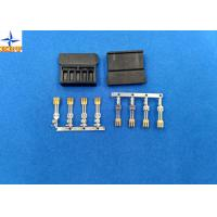 Quality brass material Gold - Plated Signal Wire To PCB crimp Connectors terminals with 1.27mm Ptich wholesale