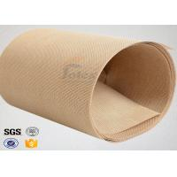 Quality Plain Width Ptfe Coated Fiberglass Cloth for Food Baking / Heat Sealing Machine wholesale