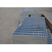 Quality 32 X 5mm Steel Walkway Grating , Flat Hot Dipped Galvanised Steel Grating wholesale