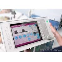 Quality Square Medical Touch Screen Monitor 12.1 Inch Size 24 Bit RGB Interface wholesale
