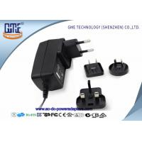 Quality 12V 1.5A Wall Mount Power Adapter For Acoustic Products , Universal EU US UK AU Plug wholesale