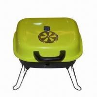 Quality Charcoal Barbecue Grill with 0.7mm Steel Plate Thickness, Measures 36 x 36 cm wholesale