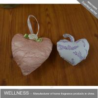 Quality Heart Shaped Scented Potpourri Bag , Natural Fruit And Flower With Scented Fragrance Oil wholesale