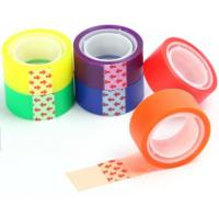 China Office Decoration 55μ Bopp Self Adhesive Tape printed stationery bopp printed packing tape for decoration on sale