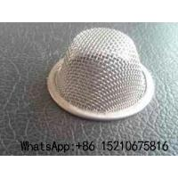 Cheap Stainless Steel Wire Mesh Filter Screen With Plain Weave, Caps/Bowl Type for sale