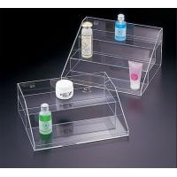 Quality Transparent Acrylic Cosmetic Display , 3 Tier Acrylic Display Case with Drawers wholesale