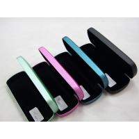 Quality Portable Stitched Metal Optical Glasses Case , Personalised Hard Glasses Case wholesale