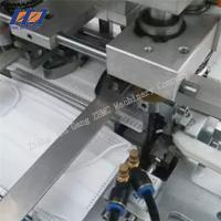 China Semi auto Non Woven Face Mask Making Machine Manufacturer good quality on sale