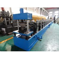 Quality High Front Quad Gutter Making Machine For Galvanized Steel / Aluminium / Copper Material wholesale