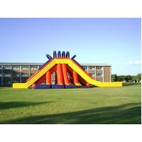 China PVC Tarpaulin Safety Giant Inflatable Slide For Adult And Kids on sale