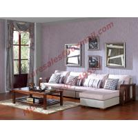 Quality Solid Wooden Frame with Fabric Sectional Sofa in Home Furniture Set wholesale