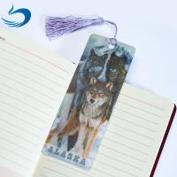 Quality Lenticular Printing Services Cartoon 3D Hologram Bookmark For Kids wholesale