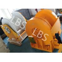 Quality Small Size Tower Crane Winch / Winch Drum with Lebus Groove or Spiral Groove wholesale