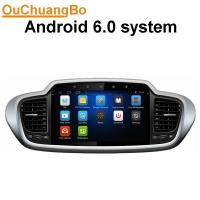 Quality Ouchuangbo pure android 6.0 radio stereo android 6.0 Kia Sorento 2015 mirror link music steering wheel control wholesale
