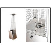 Quality Anti Tip Portable Pyramid Flame Patio Heater With Wheel Stand Up Style wholesale