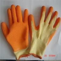 Quality 10G 21s cotton liner latex coated work glove GSA-21132 wholesale