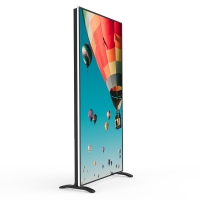 China 85 Inch Android System Indoor Smart Advertising Media Players Floor Stand LED Poster Display on sale
