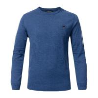 Quality Crew Neck Knitted Mens Wool Pullover Sweaters Anti - Shrink For Autumn / Winter wholesale
