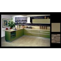 Quality Coloured MFC kitchen cabinet wholesale