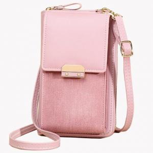 China Magnetic Buckle PU One Shoulder Messenger Bag For Women on sale