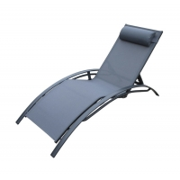 Quality 71cm Breadth 194cm Depth Outdoor Patio Chaise Lounges Folding wholesale