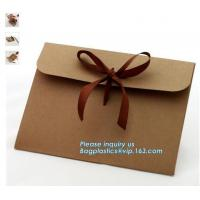 China Factory wholesale A3 A4 A5 Blank Brown Paper envelopes for online shop,Eco friendly cheap paper envelope gift card envel on sale