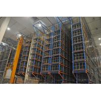 Quality Galvanized Steel  Asrs Racking System  With Warehouse Rack  Corrosion Protection wholesale