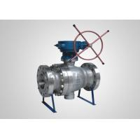 Buy cheap Cast Steel Trunnion-mounted Ball Valve Full-Port Double Block & Bleed DBB from wholesalers