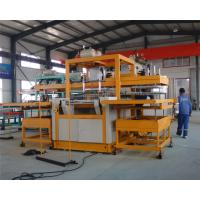 Quality Automatic vacuum forming type Robot arm PS foam takeaway lunch box forming machine wholesale
