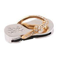 China Password Protect Metallic USB Flash Drive Jewelry , U Disk Driver on sale
