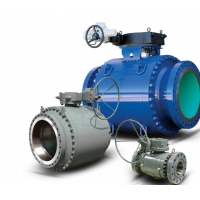 China 3-Piece Trunnion Ball Valves - API 6D Full & Reduced Port Bolted Body Construction  on sale