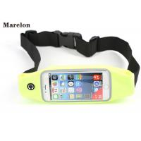 Quality Lycra Fabric Running Waist Pack High Sensitive Screen For Outdoor Sports wholesale