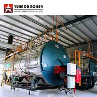 Quality Horizontal Low Pressure Fire Tube Three Pass 2 Ton Diesel Oil Fired Steam Boiler wholesale