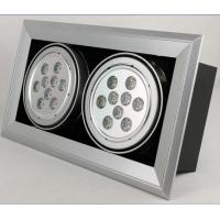 Quality Bridgelux 6500K 18 W Led Grille Spot Light High Power 110Lm/watt With CE RoHS wholesale