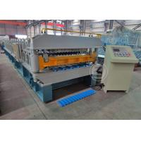 Quality 7.5KW Double Layer Roll Forming Machine Working Speed 25m / min wholesale