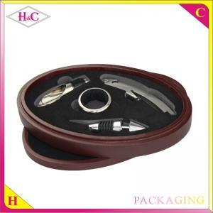 China Luxury wine corkscrew packaging box wine opener box on sale