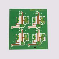 China Prepreg PCB Prototype 2 Layers Lead Free Surface HASL Green Solder Resist Color on sale