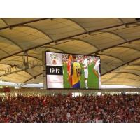 Buy cheap Indoor P10 SMD LED Display Video Wall For Stadium , RGB LED Advertising Display Board product
