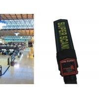 Quality High Sensitivity Personal Metal Detectors Hand Held Body Scanner CE ISO Certification wholesale