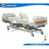 Steel Electric Hospital Bed For Patient , Medical / Hospital Care Furniture