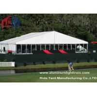 Buy cheap 20m Span White White Wedding Marquee / Garden Marquee 2.6m-3.5m Eave Height from wholesalers